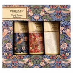 Moris & Co Strawberry Thief Hand Cream Collection - 3 x 30 ml.