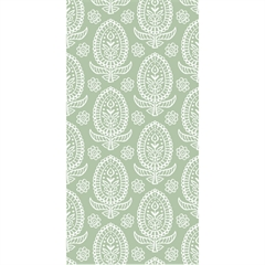 Servietter - Indian Paisley Green