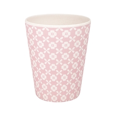 Bamboo cup Helle pale pink