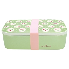 Bamboo lunch box Cherry berry p. green