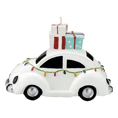 Candle car white