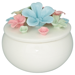 Jewelry box Daisy multicolor large