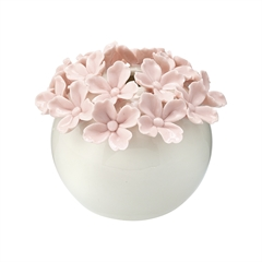 Vase Flower pale pink xsmall