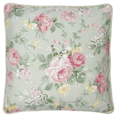 Cushion Josephine pale mint - 40x40cm