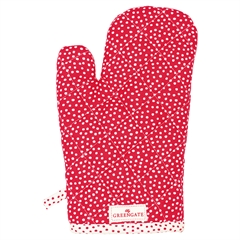 Grill glove Dot red