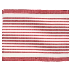Placemat Alice stripe red