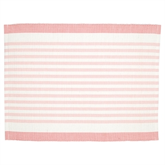 Dækkeserviet Greengate Alice stripe pale pink