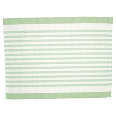 Dækkeserviet Greengate Alice stripe pale green