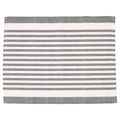 Placemat Alice stripe grey
