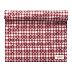 Table runner Heart petit red