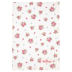 Tea towel Abigail white