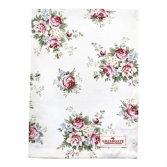 Tea towel Aurelia white