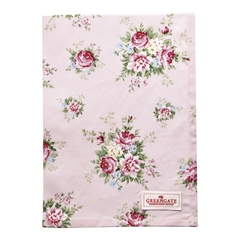 Tea towel Aurelia pale pink