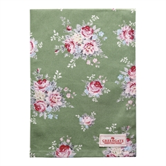 Tea towel Aurelia green