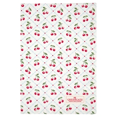 Tea towel Cherie white