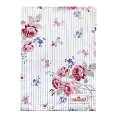 Tea towel Elisabeth white