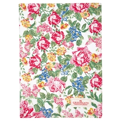 Tea towel Emmaline white