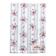 Tea towel Fiona pale blue