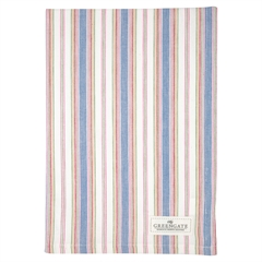 Tea towel Imke dusty blue
