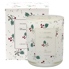 Scented candle Joselyn white 120g