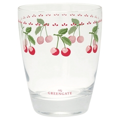 Glas Greengate Cherry white