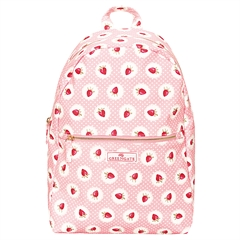 Backpack Strawberry pale pink