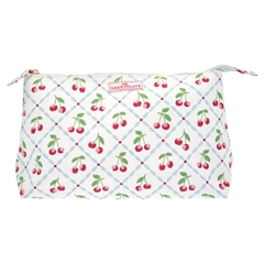 Cosmetic bag Cherie white large