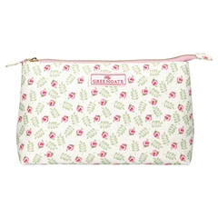 Cosmetic bag Lily petit white large