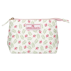 Cosmetic bag Lily petit white small