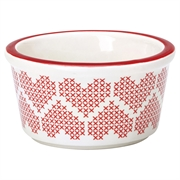 Ramekin GreenGate  Micha red