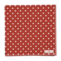 Napkin Spot red large 20pcs