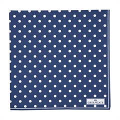 Napkin Spot blue large 20pcs