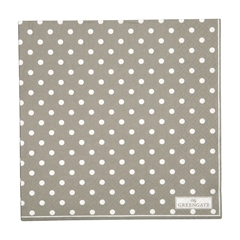 Napkin Spot grey large 20pcs