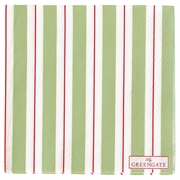 Papirservietter GreenGate Elinor green small