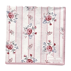 Napkin Fiona pale pink small 20pcs