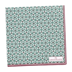 Napkin Juno green small 20pcs
