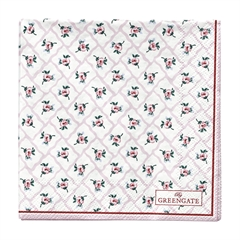 Napkin Rita pale pink small 20pcs