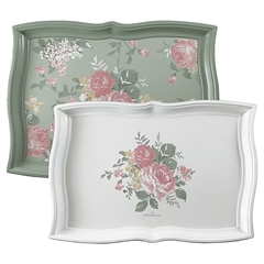 Tray Josephine pale mint - set of 2 (large 30 x 41 cm)