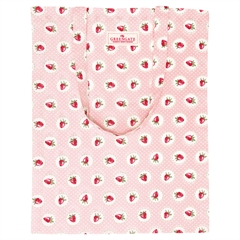 Bag cotton Strawberry pale pink