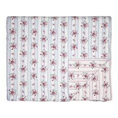 Bed cover Fiona pale blue 100x140cm
