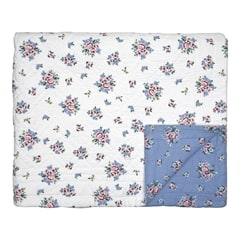 Bed cover Nicoline dusty blue 140x220cm