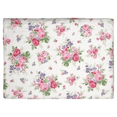 Bed cover Rose white 140x220cm