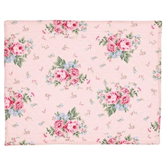 Placemat Marley pale pink 35x45cm