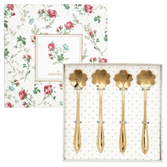 Spoon set of 4 gold