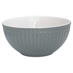 Cereal bowl Alice stone grey