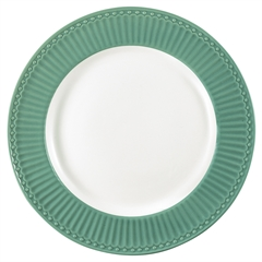 Dinner plate Alice dusty green
