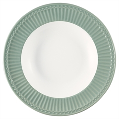Deep plate Alice dusty mint
