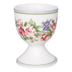 Egg cup Rose white