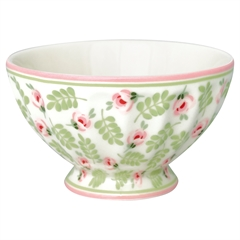 French bowl medium Lily petit white