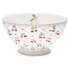 French bowl xlarge Cherie white